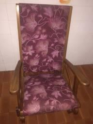 Cadeira expreguiçadeira em madeira maciça!!!