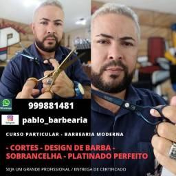 CURSO PARTICULAR DE BARBEARIA MODERNA ( UNISEX )