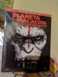 Planeta dos macacos o confronto 3d+2D
