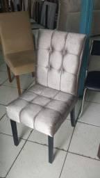 Cadeira estofada nova avulsa - até 12x cartão sem juros - entrego*