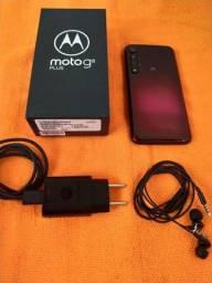 Moto G8 Plus 64GB Cor Cereja