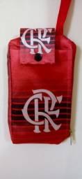 Necessaire porta celular Flamengo