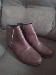 Par de botas Marrom MOLECA N°39