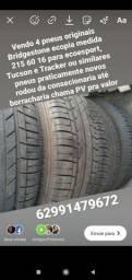 Pneu aro 16/215/60 Bridgestone novos