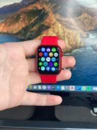 Smartwatch Iwo 13 Hw12 Vermelho 40mm