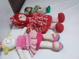 lote de bonecas média