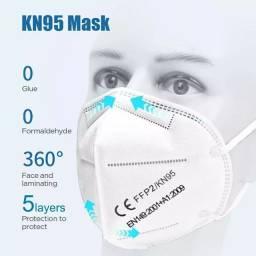Máscara de proteção KN95 reutilizável