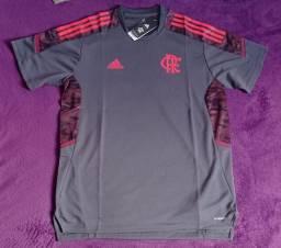 Camisa do Flamengo cinza treino (disponível: P e GG)