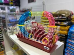 Gaiola de Hamster Tubo Luxo