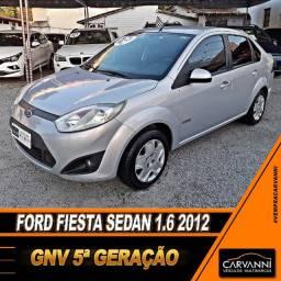 Ford Fiesta Sedan 1.6 2012 com GNV 5ª Geração