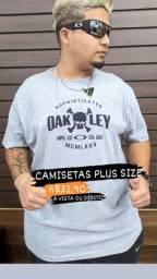 Camisas Plus Size - Mega Promoção !! Por Apenas 34,90 - Seja Revendedor (a)