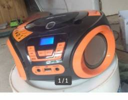 Rádio toca cd e pendrive