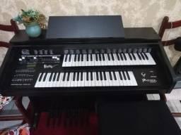 Órgão Phinker Preto modelo Reknif