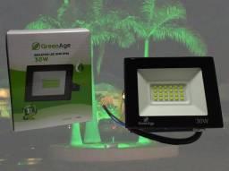 Refletor LED 30W Verde