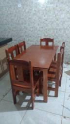 Mesa Roma de 6 cadeiras mesa Roma mesa Roma mesa SMS ames