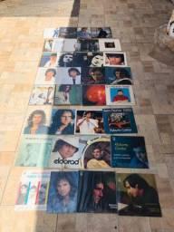 Coleção com 34 LPs Roberto Carlos