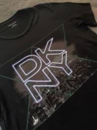 Camiseta masculina dkny