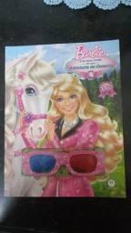 Livro Barbie e suas irmãs em uma aventura de cavalos