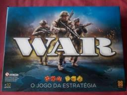 Jogo de tabuleiro War novo