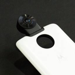 Câmera moto snap 360 celular Motorola Moto Z todos