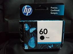 Cartucho HP 60 preto original