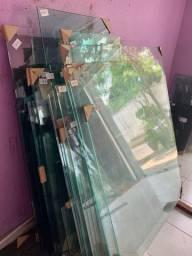 Tampos de mesa de vidro temperado! Novos!