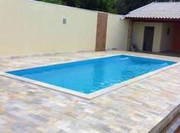 LS - Lazer em família -piscina de fibra 5,60 x 2,90 x 1,10