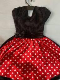 Vestido da Miney perfeito estado, usado 2 vezes