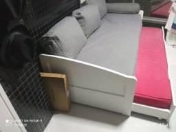 Vendo sofá bicama 3 lugares