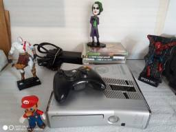 Xbox 360 Slim 250gb Reach Special Cor Prata Desbloqueado