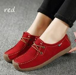 Sapato casual feminino - Tamanho 38