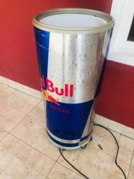 Cooler refrigerado redbull tampa rachada