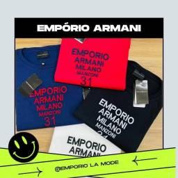 Camiseta Empório Armani premium