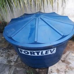 Caixa d'agua 1000 litros polietleno - Fortlev com tela