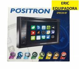 Central Multimídia Pósitron SP8530 BT 2 Din 6.2 Pol Touch Screen - Instalada