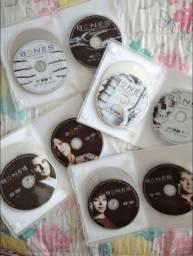 Série DVD Bones 1 e 2 temporadas