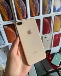 iPhone 8 Plus gold modelo de vitrine novo 12x216 promoção