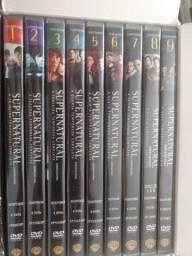 Box sobrenatural 1 a 9 temporada