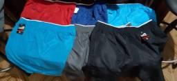 Shorts de Academia cores variadas