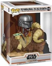 Funko Pop Star Wars The Mandalorian & The Child on Bantha - 416
