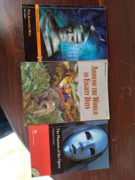 Livros em ingles por 3 reais cada