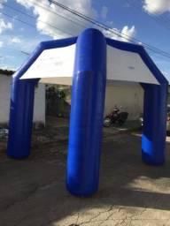 Tenda inflável