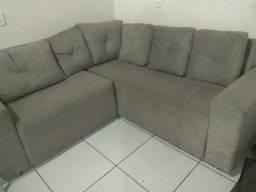 Sofá de sala pouco tempo de uso