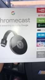 Lacrado Chromecast 2 que deixa Smart sua Tv, cartao aceito