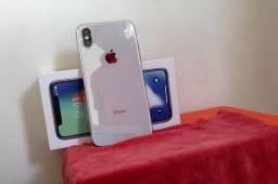 Vendo ou Troco,IphoneX 256 gigas n.fiscal completo garantia 2019 procedência ler anúncio