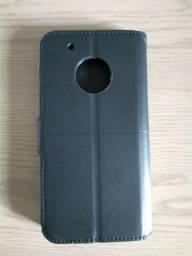 Capa Carteira Moto G5