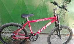 Bicicleta Totem Suspensão Alumínio Aro 26