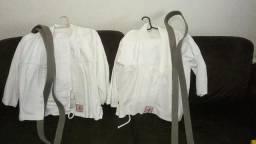 Kimono de Judo Keiko original e duas faixas