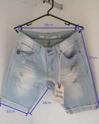 Bermuda Jeans Slim Handbook Premium Denim