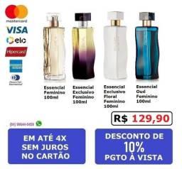Perfumes Essencial Feminino Natural 100ml